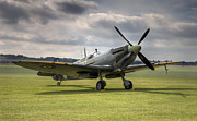 Mkix Photo Posters - Spitfire ready to go Poster by Ian Merton