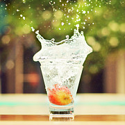 Healthy-lifestyle Prints - Splash! Print by Elvira Boix Photography