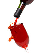 Wine Pouring Prints - Splash Print by Olivier Le Queinec