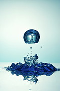 Creativity Art - Splashing Droplet into water by Sami Sarkis