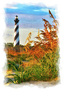 Cape Hatteras Lighthouse Posters - Splendid Sunset on Hatteras Poster by Dan Carmichael