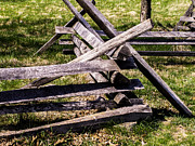 Split Rail Fence Posters - Split Rail Poster by Leroy McLaughlin