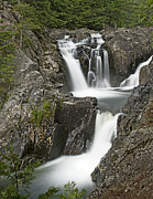 """adirondack Park""  Photo Posters - Split Rock Falls in Adirondack Park New York Poster by Brendan Reals"