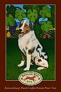 Winery Paintings - Spoiled Dog Winery by Stacey Neumiller