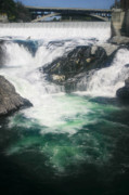 Spokane Falls Prints - Spokane Waterfalls Print by Anthony Jones
