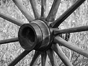 Spokes Metal Prints - Spokes Metal Print by Ernie Echols