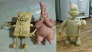 Bob Sculptures - Sponge Bob by Alexandro MF