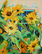 Impressionistic Paintings - Spontaneity by Marie Massey