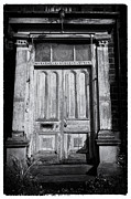 Old Door Framed Prints - Spooky Door  Framed Print by Peter Aitchison