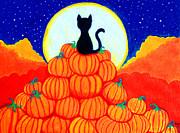 Spooky The Pumpkin King Print by Nick Gustafson