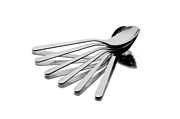 Crockery Framed Prints - Spoon Fan Framed Print by Gert Lavsen