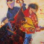 Spoonshine Duo Print by Anne Schreivogl