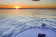Sportfish Sunrise On The Atlantic Print by Dustin K Ryan