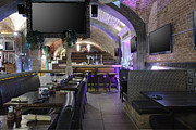 Visual Aid Prints - Sports Bar And Restaurant Interior Print by Magomed Magomedagaev