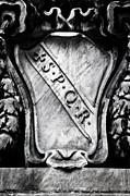 Coat Of Arms Metal Prints - Spqr Metal Print by Joana Kruse