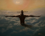 Ambition Painting Prints - Spread Your Wings Print by Jerome White