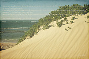 Sand Dunes Digital Art Posters - Sprecks - The Dunes Poster by Sharon Mau