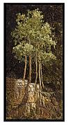 Rocks Tapestries - Textiles Originals - Spring Aspen 1 by Lorraine Roy