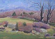 Stonewall Painting Originals - Spring At Ashlawn Farm by Paula Emery