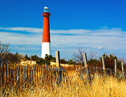 Barnegat Lighthouse Framed Prints - Spring at Barnegat Framed Print by Nick Zelinsky