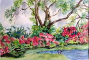 Live Oaks Originals - Spring at Brookgreen Gardens by Barbara Jung