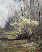 4th Paintings - Spring Blossom  by Ylli Haruni
