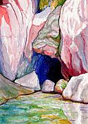 Red Rock Paintings - Spring by Bonnie Kelso