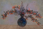 Foilage Prints - Spring bouquet 4 Print by Jeff Burgess