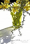 Spring  Digital Art Metal Prints - Spring Bouquet Metal Print by Barb Pearson
