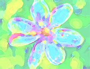 Digital Image Digital Art - Spring Flower  by Patricia Awapara
