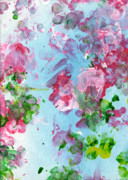 Paws Painting Originals - Spring Flowers by Antony Galbraith