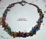 Beadwork Jewelry - Spring Garden-SOLD by Patricia Griffin Brett