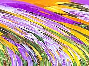 Purples Digital Art - Spring Has Sprung by Deborah MacQuarrie