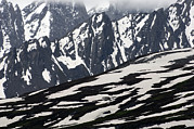 Snow Drifts Prints - Spring In Alaska Mountains Print by Michael S. Quinton
