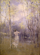 Scottish Art - Spring in Moniaive by James Paterson