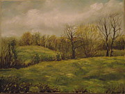 Irish Artists Painting Originals - Spring is in the air by Robert Gary Chestnutt