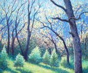 Yosemite Pastels - Spring Light Has Come by Barbara Beaudreau