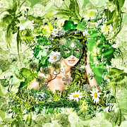 Spring Print by Mo T