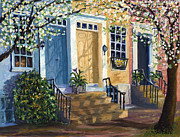 Alexandria Paintings - Spring Morning by Cori Caputo