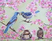 Birds - Spring Nursery by Pauline Ross