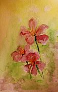 Floral Paintings - Spring please by Julie Lueders
