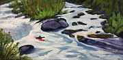 North Fork Originals - Spring Run North Fork by Sherri McDowell