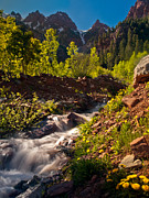 Pauls Colorado Photography Prints - Spring Run Off Print by Paul Gana