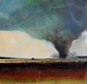 Scary Paintings - Spring Tornado by Toni Grote