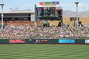 Baseball Fields Prints - Spring Training 12-4-9 Print by Pamela Walrath