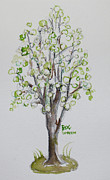 Becky Kim Photo Metal Prints - Spring Tree 2 Metal Print by Becky Kim