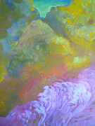 Visionary Artist Painting Originals - Springscape by George  Page