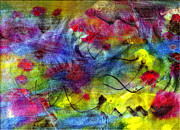 Combination Mixed Media - Springtime Abstract by Don Wright