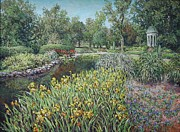 Including Paintings - Springtime at Philbrook by Jimmy Leach
