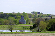 Rural Landscape Prints - Springtime in Otoe County Print by Christine Belt